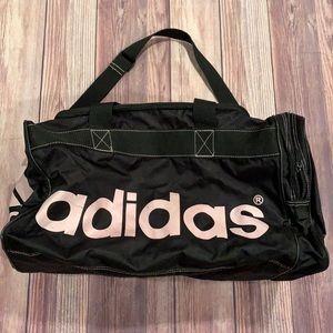 Adidas Black & Pink Duffle Bag